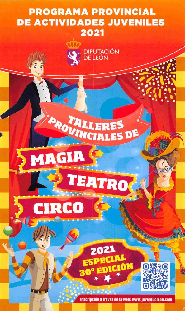 Martes Talleres provinciales de magia, teatro y circo
