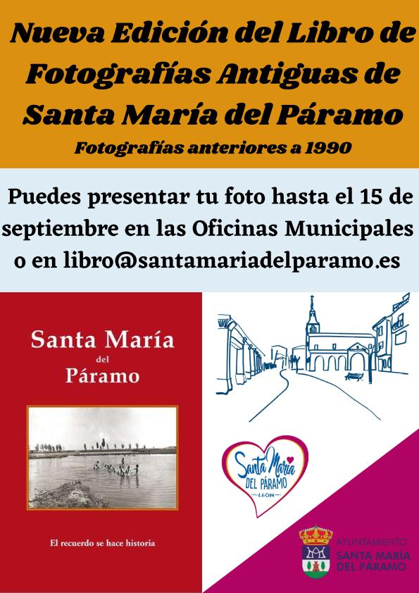 Nueva edicion del libro de Fotografias Stª Mª del Páramo