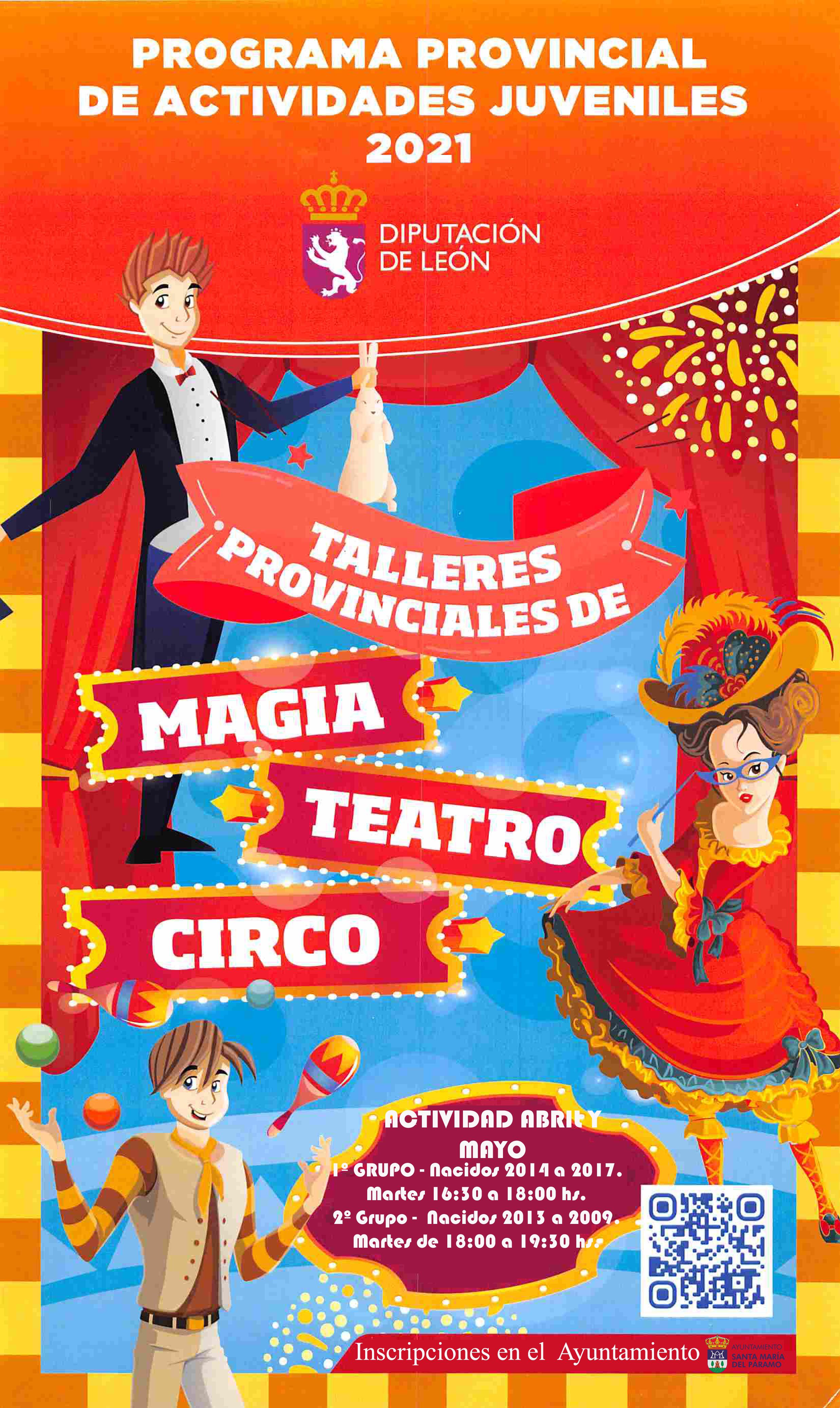 Talleres provinciales de teatro