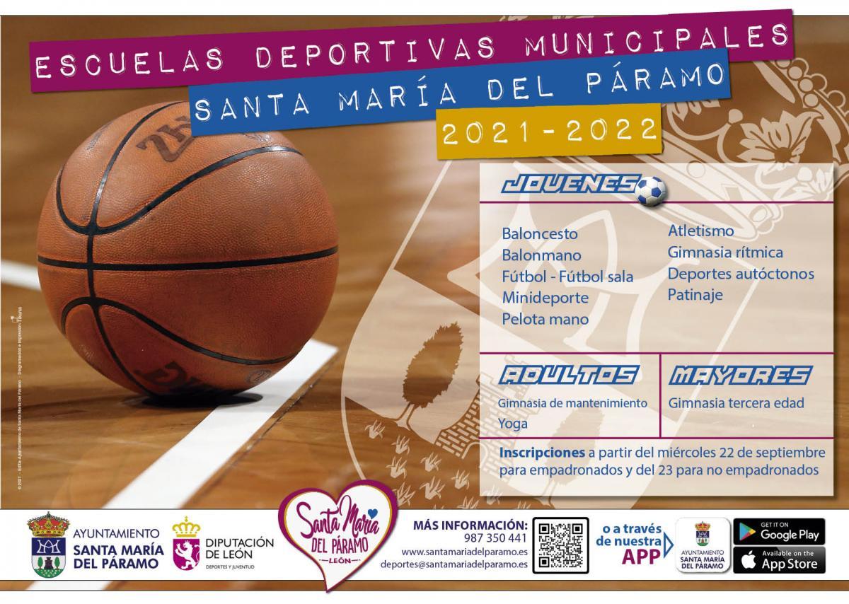 Información Escuelas Deportivas 2021-2022