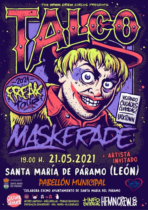 """Concierto de Talco """"21 de Mayo 2021"""""""