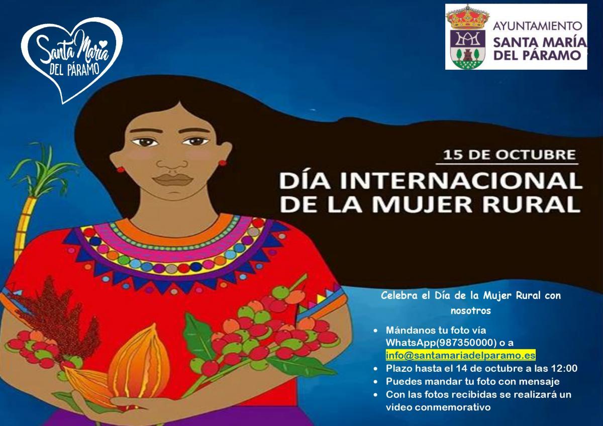 Celebra con nosotros el Día Internacional de la Mujer Rural