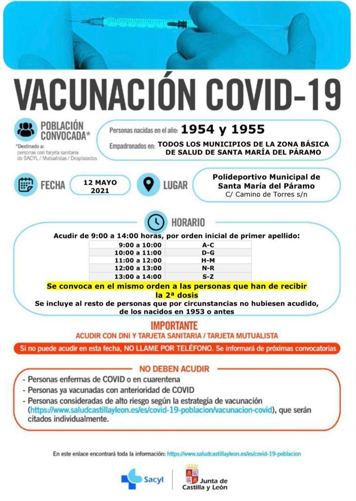 Vacunación 12 de Mayo 2021