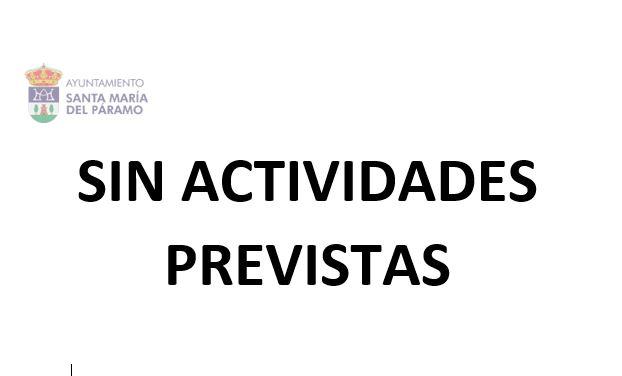 Sin actividades previstas II